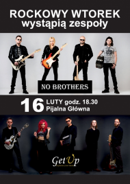 "Styczniowy koncert ""Get Up"" & ""No Brothers"""